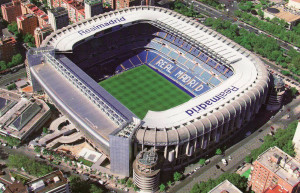 Stadion Real Madrid - Bernabeu