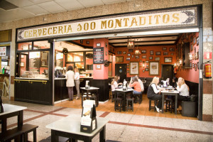 Tapas in Madrid - Cien montaditos